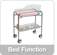 hospital bassinet bed function