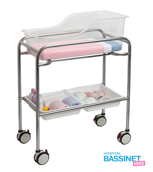 About Our Bassinets Hospital Bassinet Hire