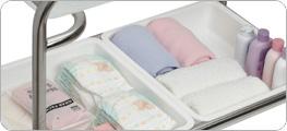 hospital bassinet reflux assist