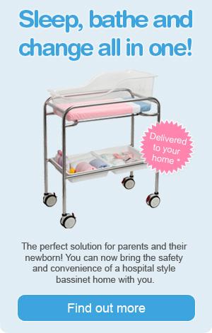 Hire a hospital bassinet